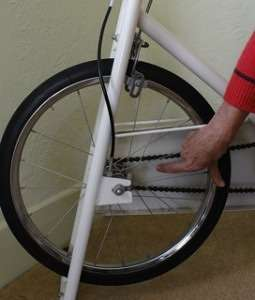 Exercise bike safety unguarded spokes