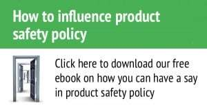 how to influence product safety ebook