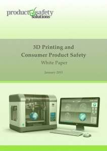 Front cover of 3D Printing White Paper