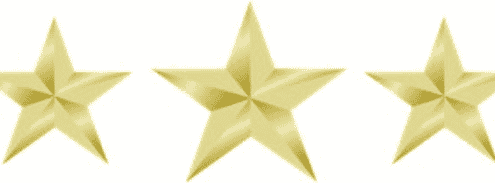Button battery gold star
